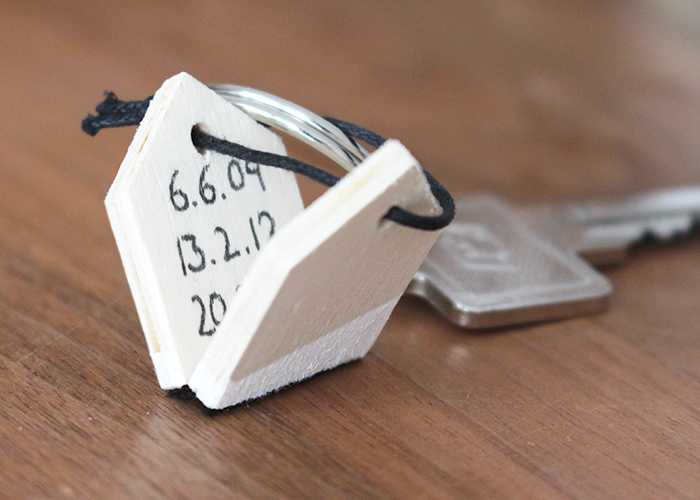 Schlüsselanhänger mit Versteck