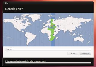 Ubuntu timezone seçimi nasıl yapılır?