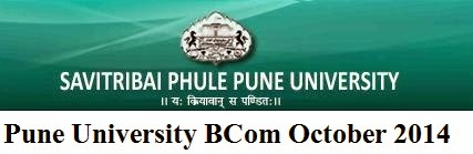 Pune University BCom October 2014