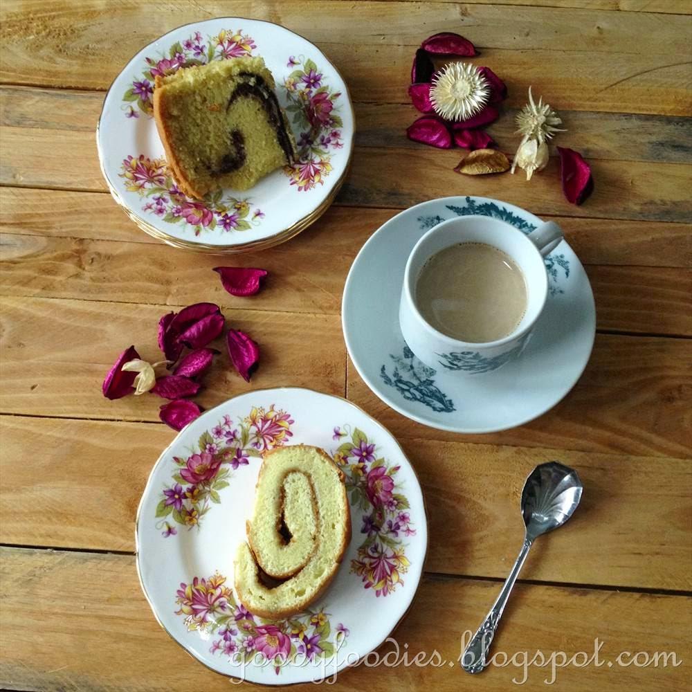 Baba Cakes Made In Kugelhopf Cake Tins