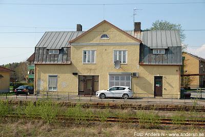 Mark, Marks kommun, station, järnvägsstation, tåg, järnväg, Kinna, Skene