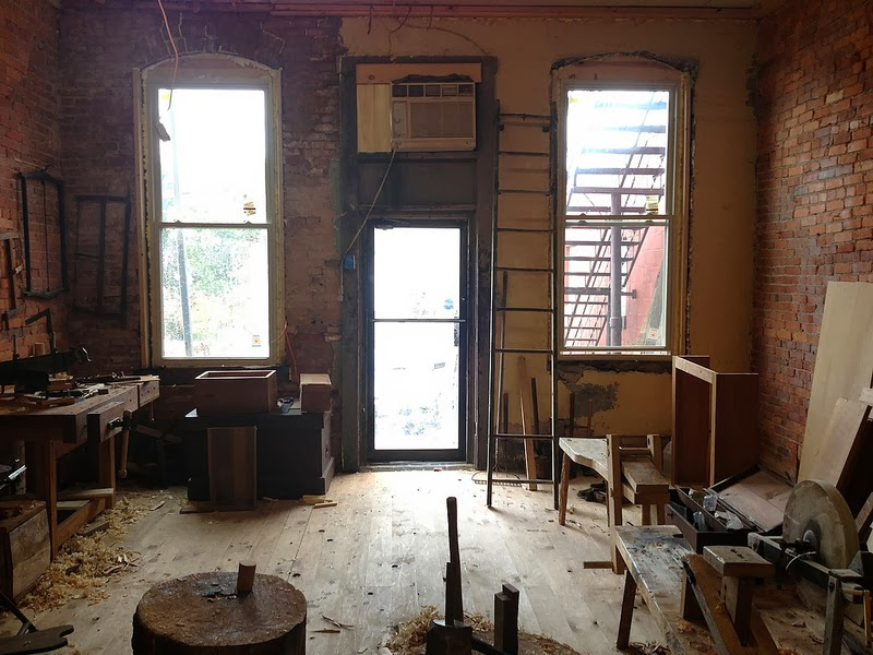 ... An Ambitious Young Amish Woodworker (and Tool Collector) Named Dan  Raber Has Stripped A Nondescript Storefront In Downtown Millersburg, Ohio  Down To Its ...
