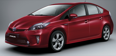 2013 Toyota Prius Touring Barcelona Red