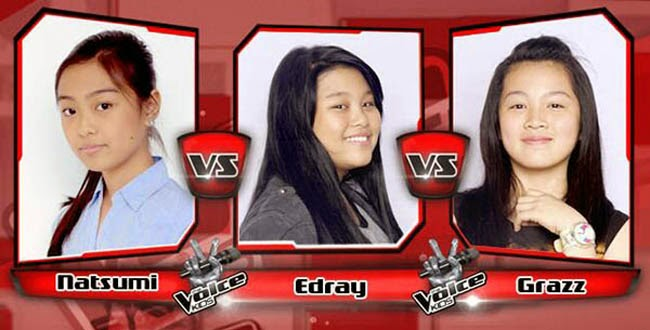 Edray Won Over Natsumi and Grazz on The Sing-offs for The Voice Kids Philippines