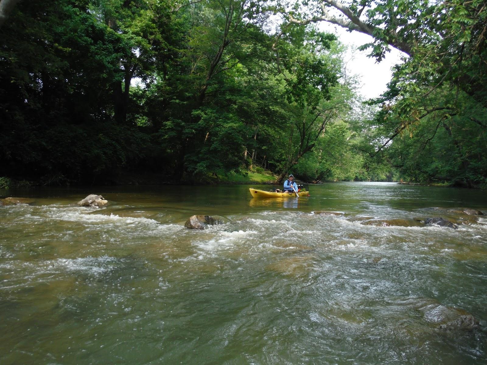 Indiana kayak fishing journal 7 5 15 river fishing for River fishing kayak