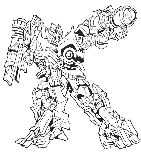 Transformers coloring pages coloring pages for Transformers 4 coloring pages
