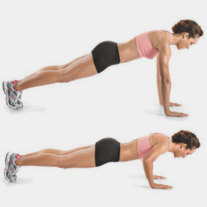 Push up Workout