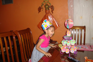 Pastel de mi cumpleños 6 en casa de MaAna y Yaya