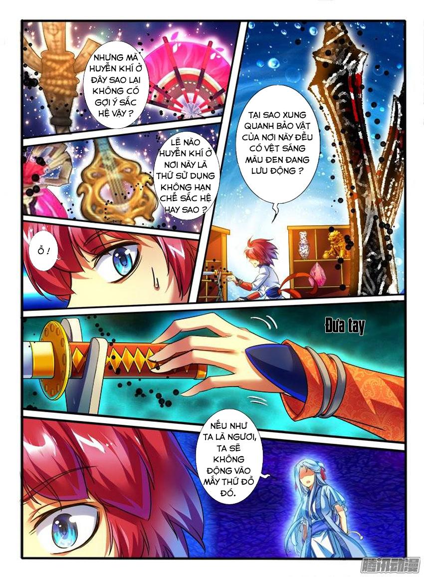 Thông Linh Phi Chap 161 - Trang 3