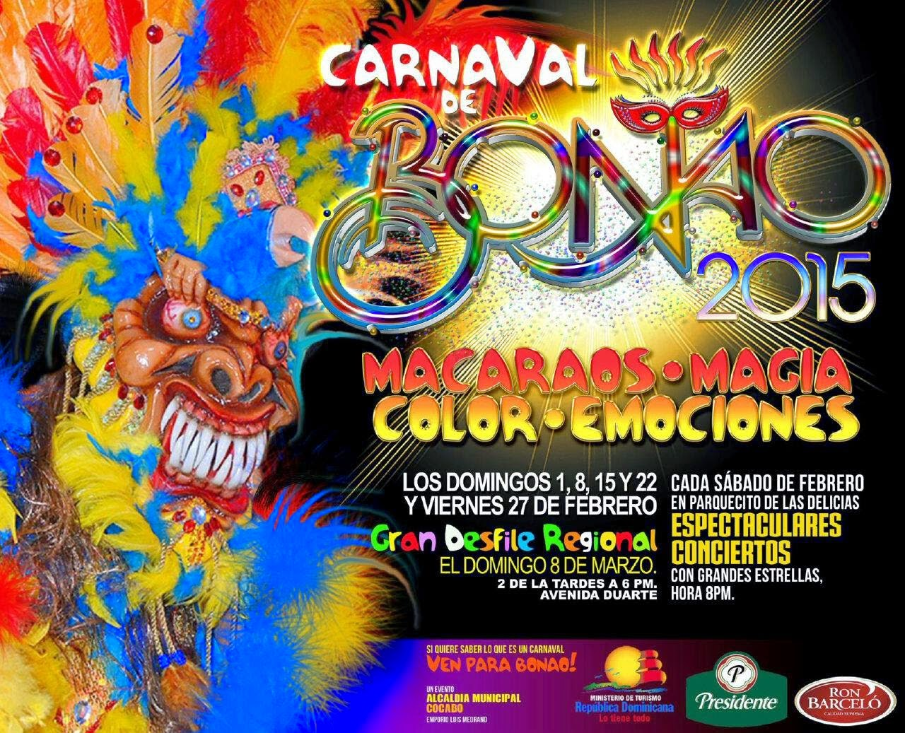 CARNAVAL BONAO 2015