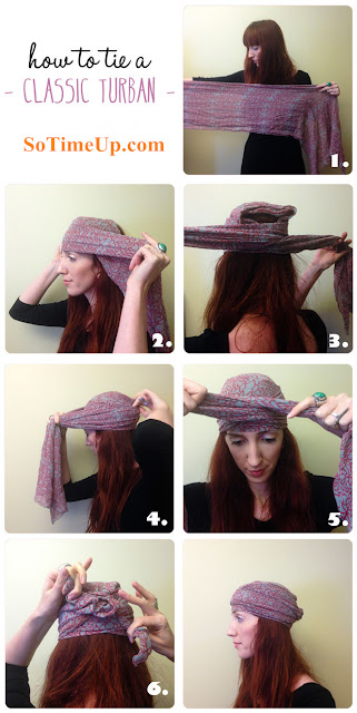 Six simple tips teach you how to tie Classic Turban