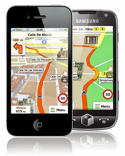 navegador gps android o iOS