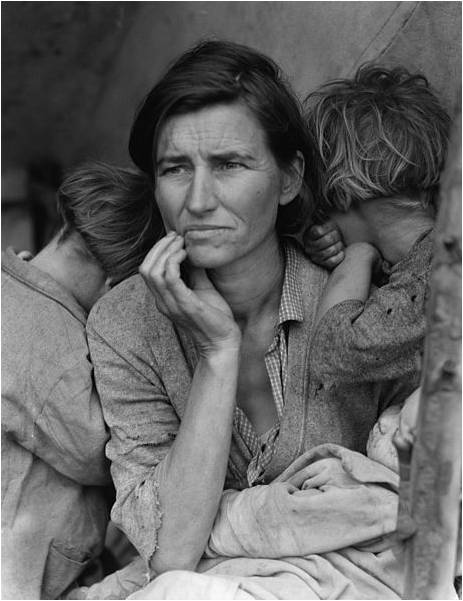 The Depression Era Photography of Dorothea Lange ~ Kuriositas
