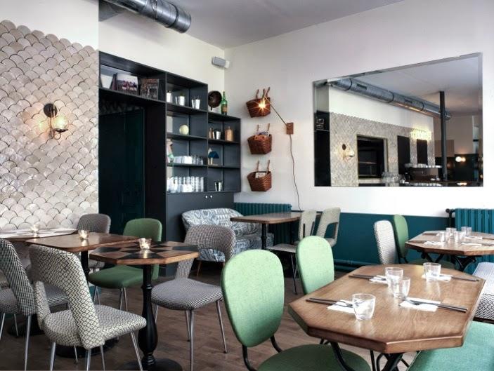 Nouveau caf pinson paris d co originale et cuisine for Deco cuisine originale