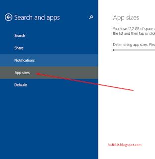 app sizes di windows 8