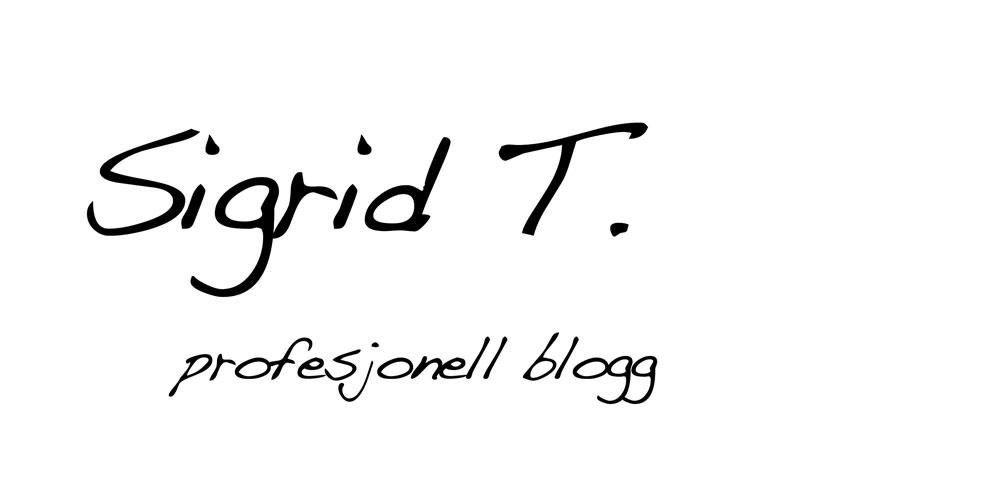 Sigrids profesjonelle blogg