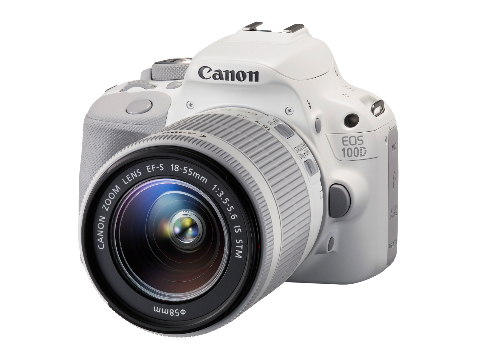 Canon EOS 100D and EF-S 18-55mm f/3.5-5.6 IS STM lens