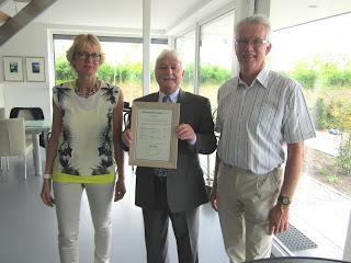 Uitreiking certificaat PassiefBouwenKeur HuisTamminga.nl
