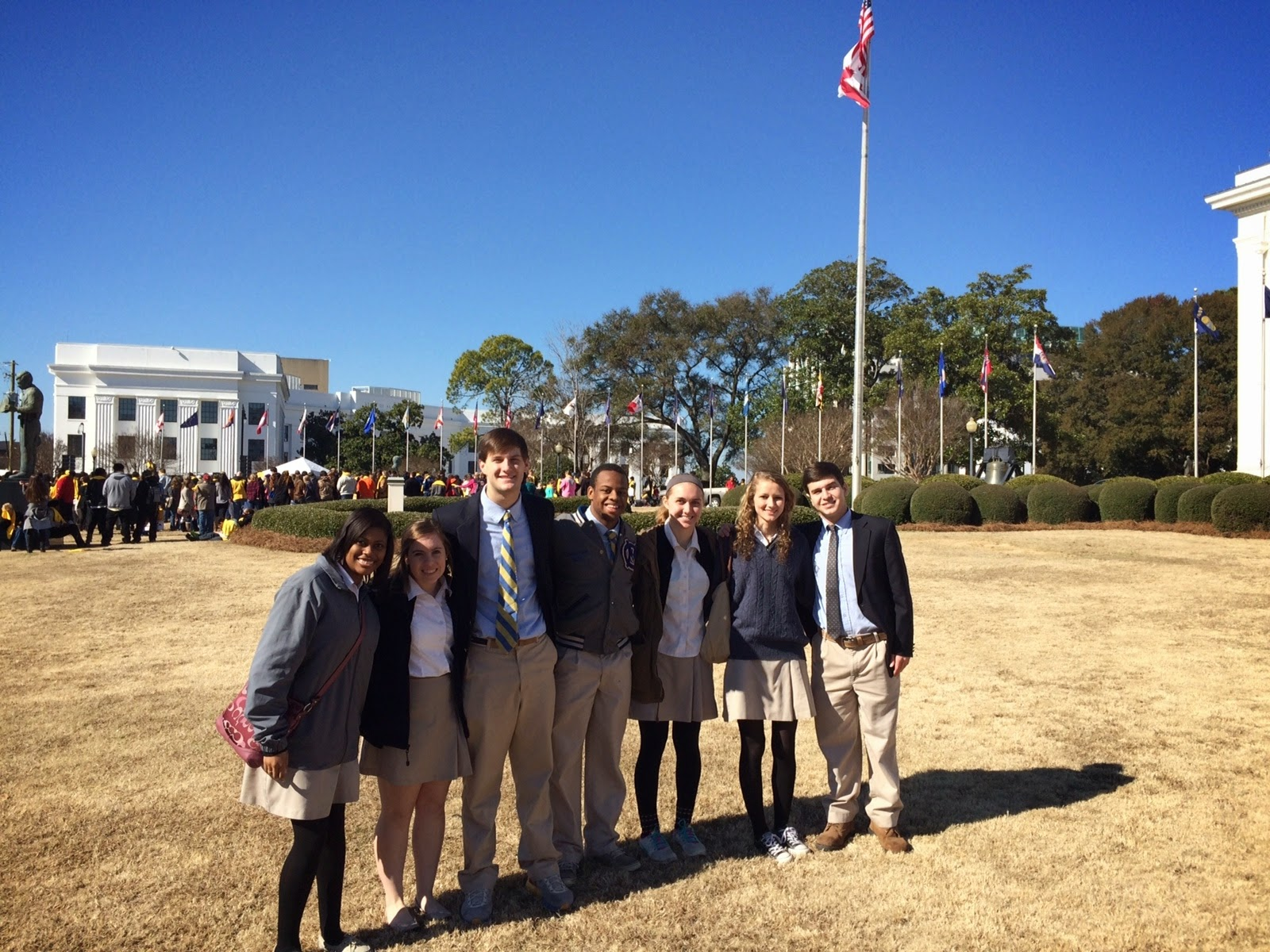 Montgomery Catholic Preparatory School celebrates Catholic Schools Week January 26 - 30 2