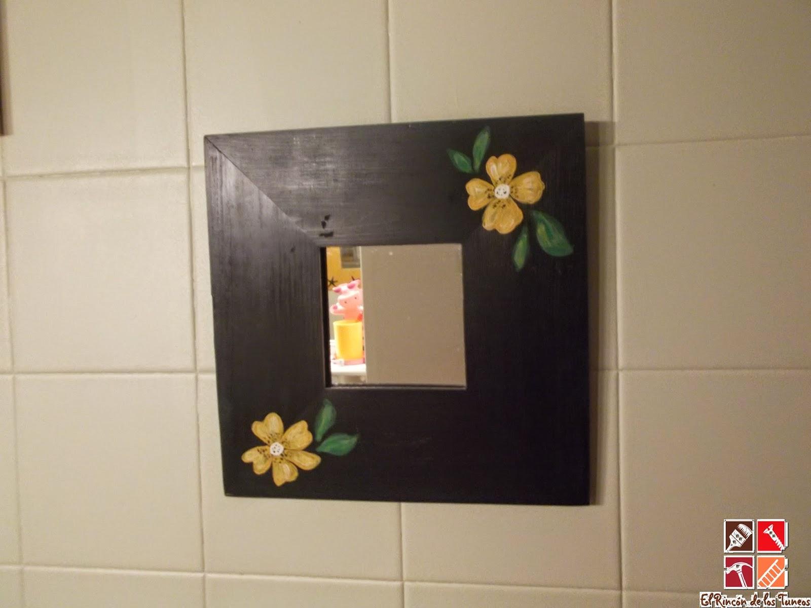 espejo Malma Ikea pintado a mano
