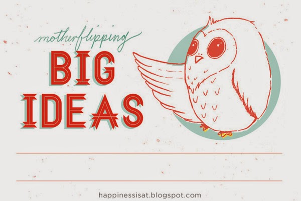 Stationery created by Happiness is - Motherflipping Big Ideas Owl