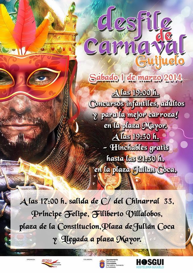 1/Marzo: Carnaval.Guijuelo
