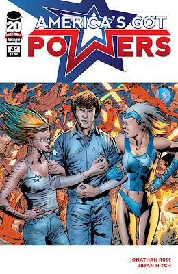 America’s Got Powers # 4 - Jonathan Ross Bryan Hitch