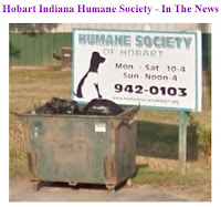 Hobart Indiana Humane Society - In The News