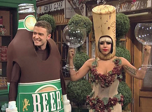 Saturday Night Live: Justin Timberlake and Lady Gaga - - Video and Photos