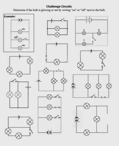 Teaching the Kid Series or Parallel Circuits – Series Parallel Circuit Worksheet