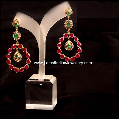 Lovely Ruby Earrings