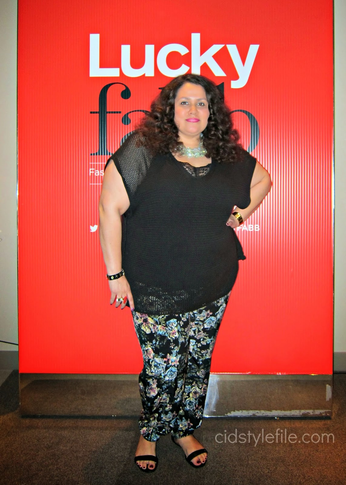 floral pants, forever 21, c wonder, lane bryant, plus size fashion, latina blogger, #LuckyFabb, FabbHair, SLS Hotel