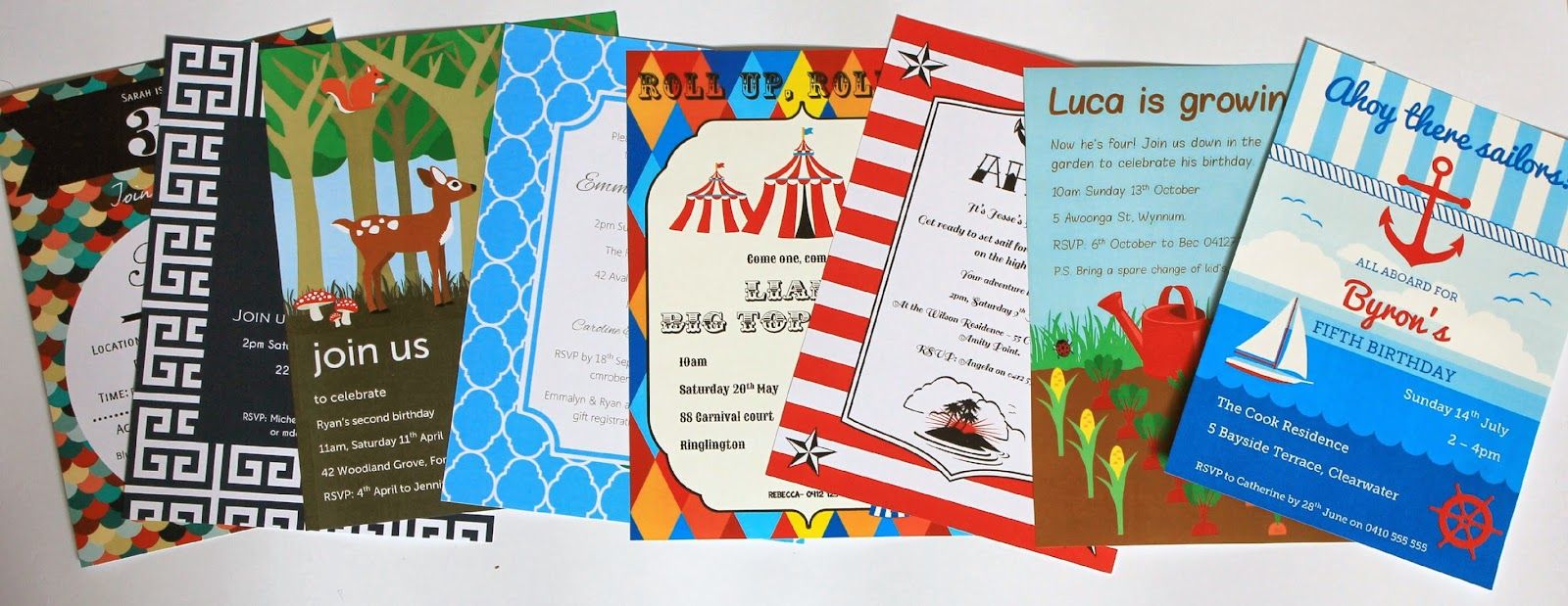 Printable Party Invitations by Love That Party. SHOP NOW at http://lovethatparty.bigcartel.com/products