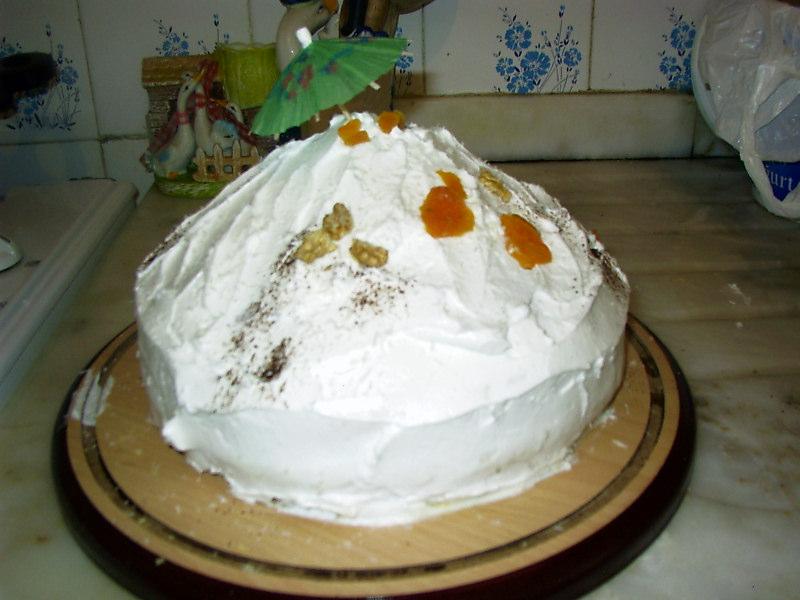 Uludağ pastası tarifi
