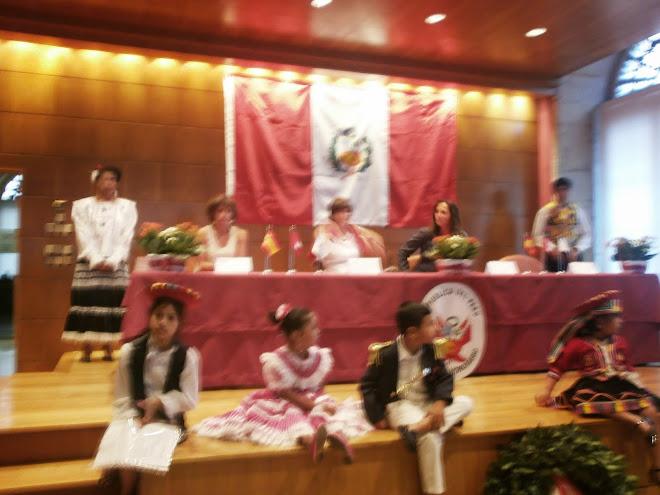 ANIVERSARIO FIESTAS PATRIAS EN VIGO  28 DE JULIO DEL 2012