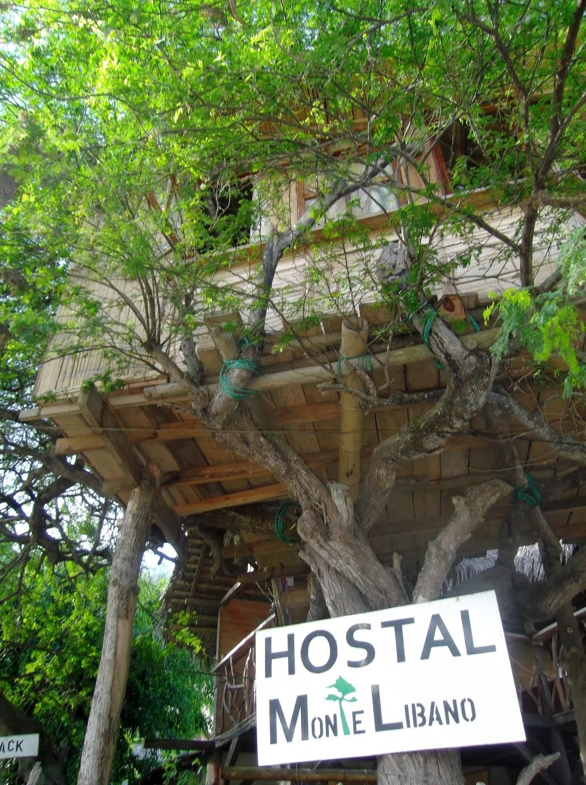 HOSTAL MONTE LIBANO, Puerto López, Ecuador.