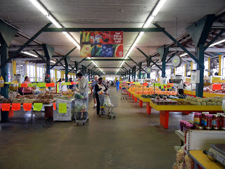 Inside Canino Produce Market- the grocery store portion