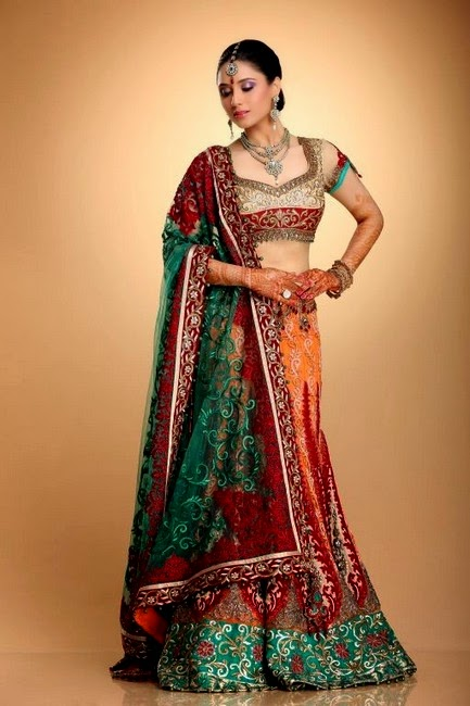 Formal Wear Dresses For Brides By Kapil And Mmonika