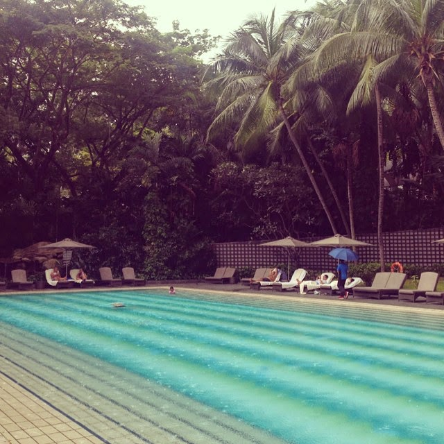 ritz carlton singapore pool