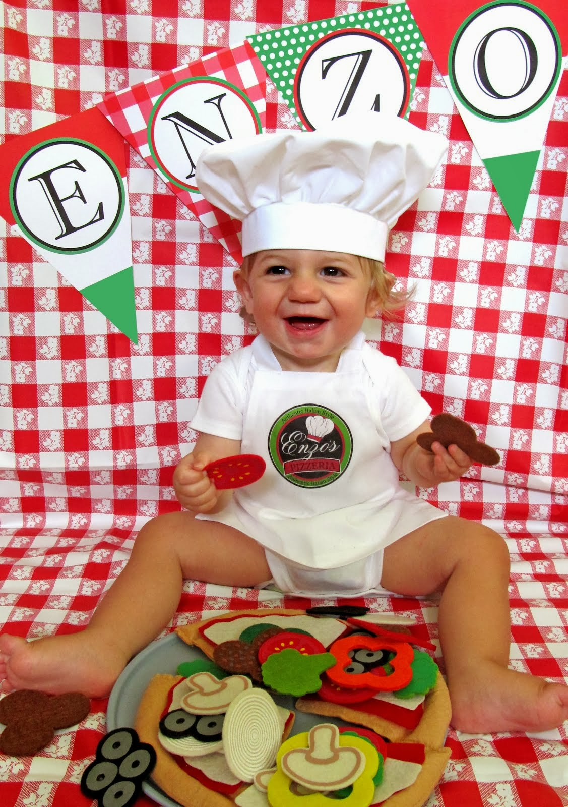 Enzo's Italian Pizzeria 1st Birthday  Party