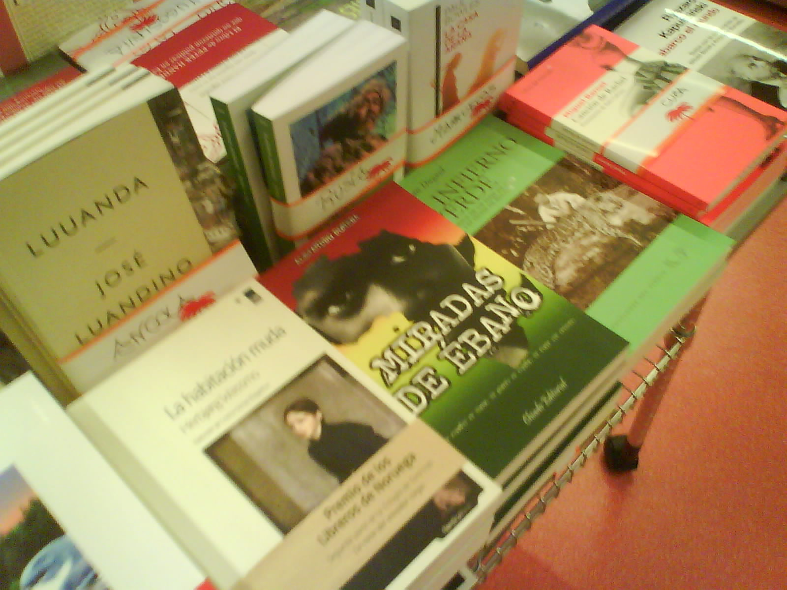 Miradas de ebano algunas librerias donde podeis encontrar - Libreria desnivel barcelona ...