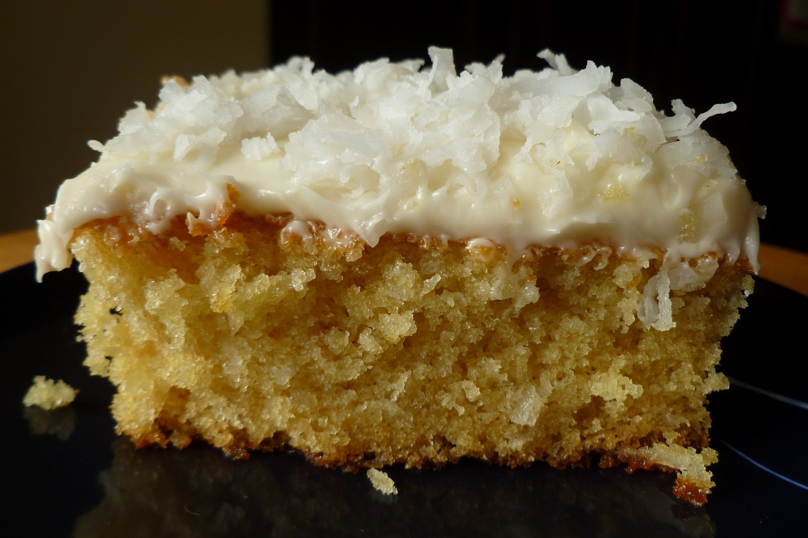 Coconut Cake - made May 5, 2013, recipe adapted from Cookin' Food