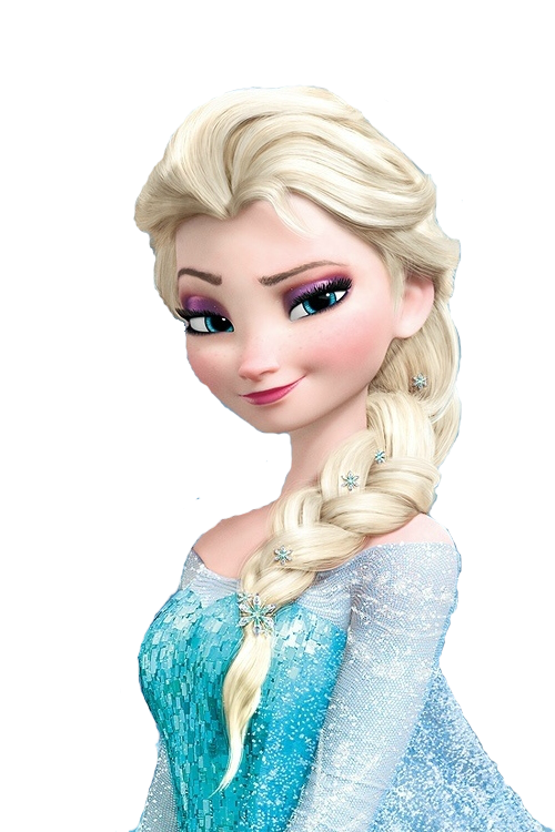 elsa headshot coloring pages - photo#34