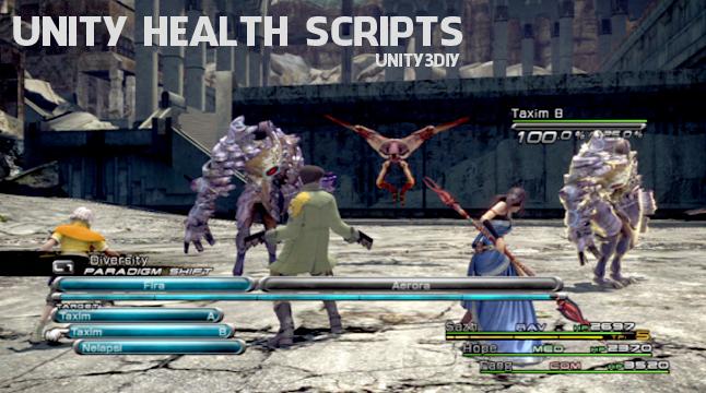 unity Health Scripts