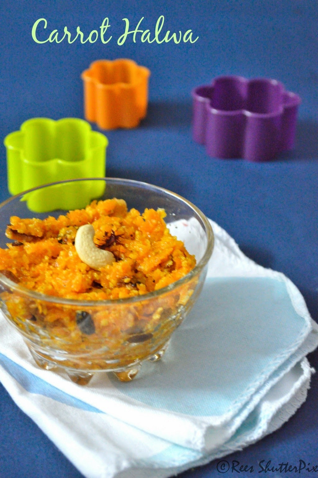 easy carrot halwa with step wise pictures, step by step picture recipe, quick carrot halwa,