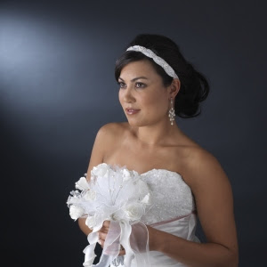 Elegant Wedding Hairstyles With A Ribbon Beauty Blog