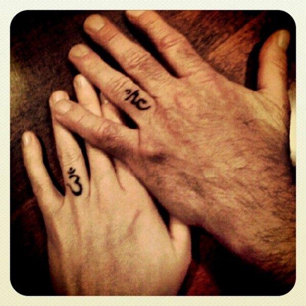 Wedding Band Tattoo Images 47 Spectacular Photo via Inked Weddings