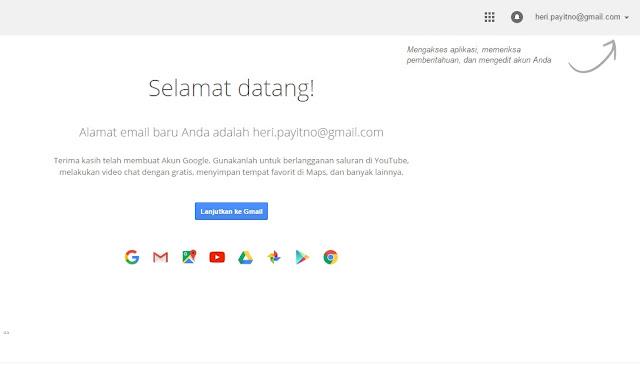 5 Langkah Mudah Cara Membuat Account Gmail Gratis