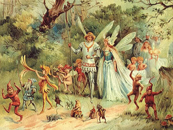 Why Faeries and Zombies Belong Together