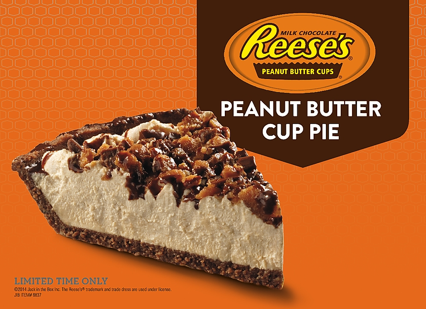 ... : Jack in the Box - New Reese's Peanut Butter Cup Pie | Brand Eating